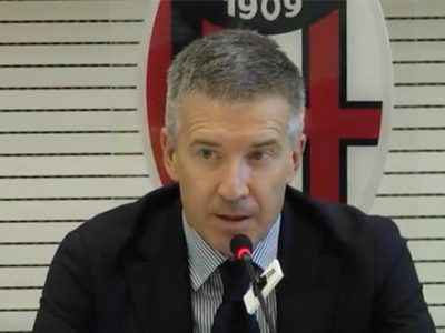 Nota ufficiale del Bologna sulle recenti dichiarazioni dell'a.d. Claudio Fenucci