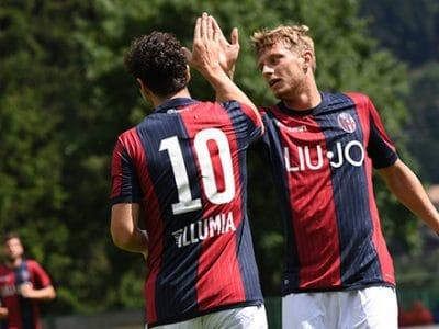 Apre Destro, chiude Falcinelli: nella seconda amichevole di Pinzolo il Bologna supera 4-0 La Fiorita