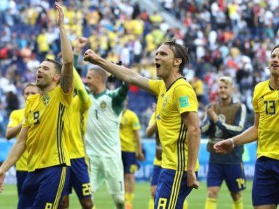 Mondiali: la Svezia elimina la Svizzera. Debutto col sorriso per Krafth, Dzemaili torna a casa