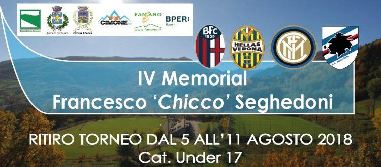 Dal 5 all'11 agosto a Fanano il 4° Memorial Seghedoni, quest'anno c'è anche il Bologna