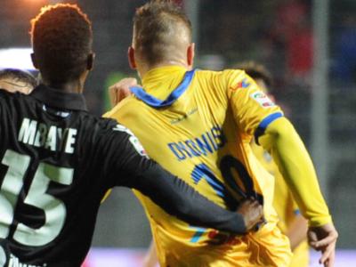 Frosinone-Bologna, nell'ultima sfida in A vittoria di misura dei ciociari