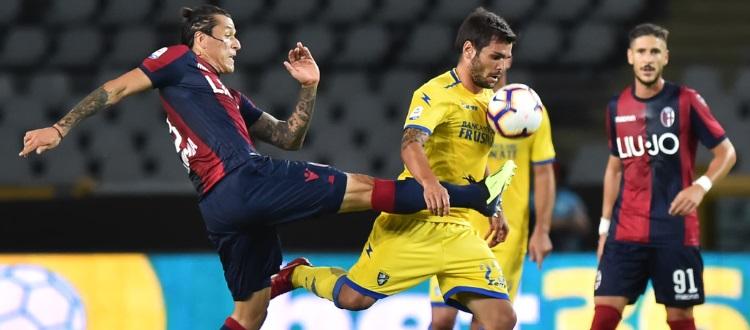 Tra Frosinone e Bologna uno scialbo 0-0 che non fa felice nessuno