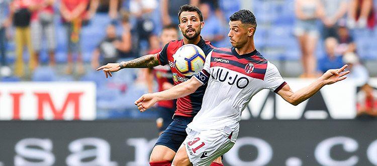 Bologna, allarme rosso: ancora zero gol, ancora una sconfitta, al Genoa basta un guizzo di Piatek