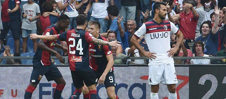 Genoa con 5 vittorie in più del Bologna a Marassi, lo scorso anno decisivo Piatek