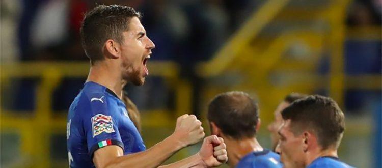 Italia, pari e sbadigli al Dall'Ara: Jorginho risponde a Zielinski, contro la Polonia è 1-1