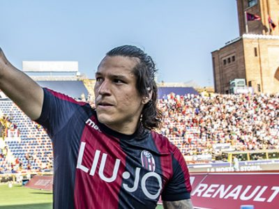Mattiello-Santander, finalmente i tre punti: Bologna-Roma 2-0