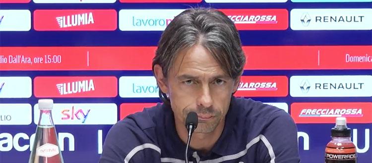 """Inzaghi: """"La formazione è un rebus, Orsolini può avere una maglia. Il Torino ha qualità ma noi abbiamo grande cuore"""""""