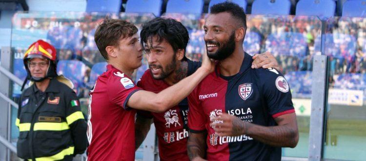 A Cagliari il Bologna è piccolo piccolo, comodo 2-0 dei sardi con Joao Pedro e Pavoletti