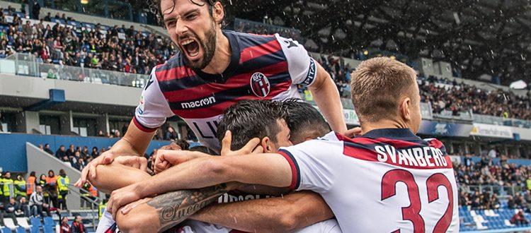 Bologna quasi corsaro al Mapei Stadium, contro il Sassuolo finisce 2-2
