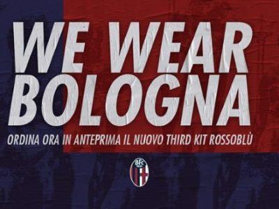 La nuova terza maglia del Bologna disponibile in pre-order fino al 9 novembre