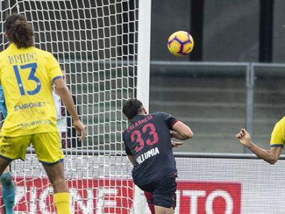 Il Bologna stenta, rischia e poi rimedia, ma col Chievo è solo 2-2