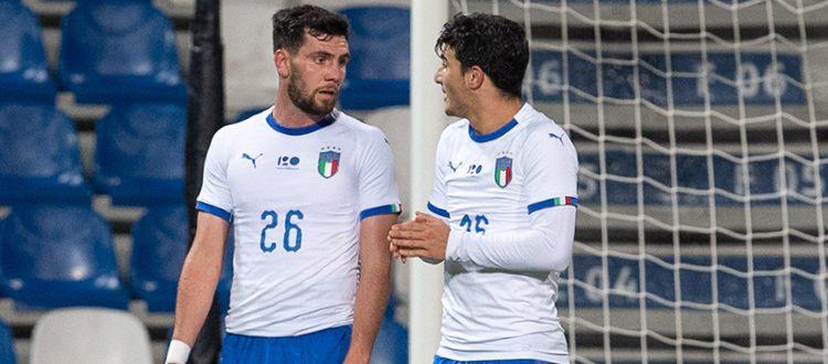 Calabresi, Edera e Orsolini convocati dall'Italia Under 21 per il pre-ritiro in vista degli Europei