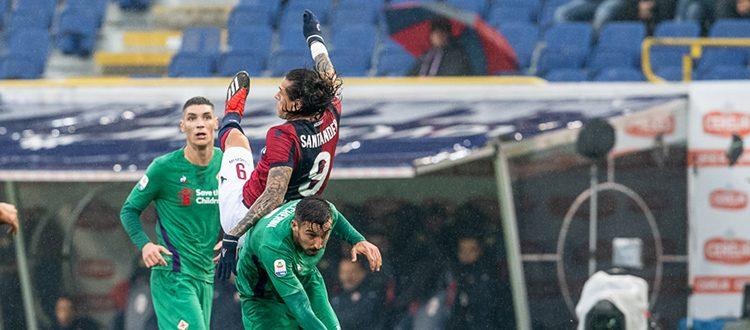 L'ennesima X che serve a poco, i rossoblù scendono in zona retrocessione: Bologna-Fiorentina 0-0