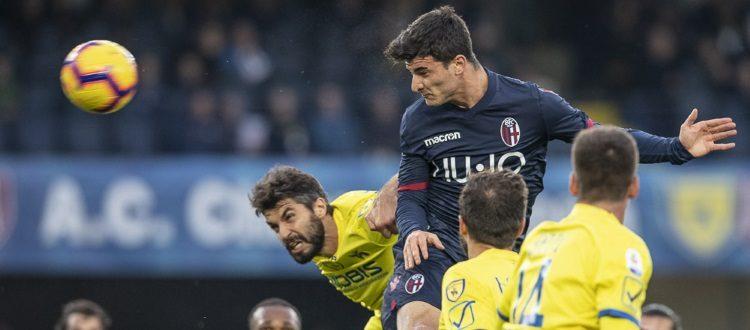 Orsolini non basta, a Verona un altro preoccupante passo indietro: Chievo-Bologna 2-2