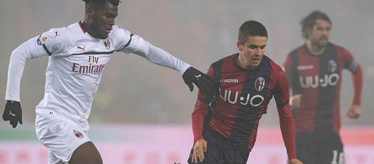 Gelo, paura di perdere e zero gol, Bologna e Milan non si fanno male