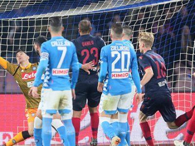 Al San Paolo i rossoblù vendono cara la pelle, ma non basta: Napoli-Bologna 3-2