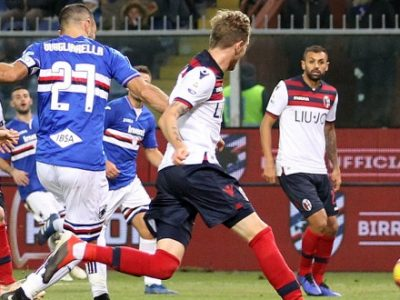 Notte fredda e buia a Marassi: Sampdoria-Bologna 4-1