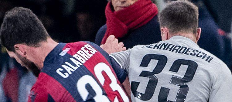 Il Bologna attende e si fa male da solo, la Juventus passa facile 2-0