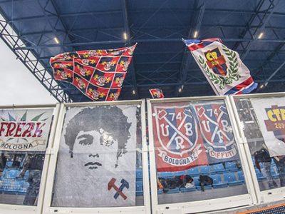 Invasione rossoblù alla Dacia Arena, già esauriti i biglietti in Curva Ospiti