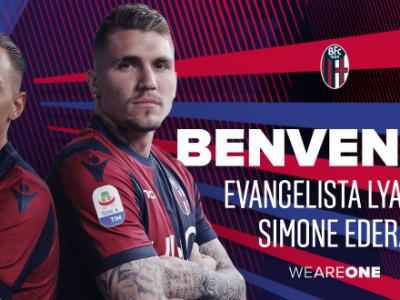 Ufficiale: Simone Edera e Lyanco al Bologna