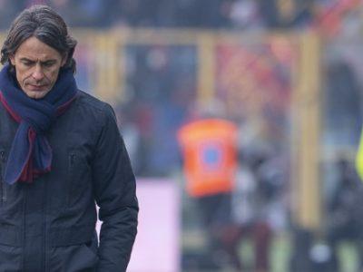 Sprofondo rossoblù, salta la panchina di Inzaghi: Bologna-Frosinone 0-4