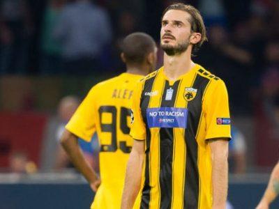 Ufficiale: Marios Oikonomou riscattato dall'AEK Atene
