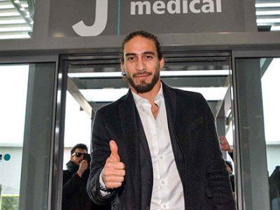 Caceres torna alla Juventus, sostituirà il partente Benatia