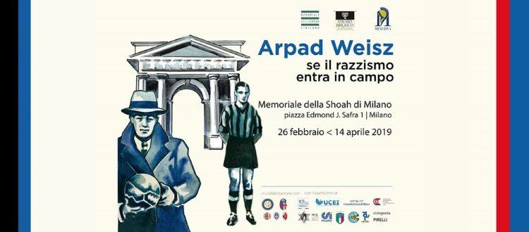 Oggi a Milano l'inaugurazione della mostra 'Arpad Weisz. Se il razzismo entra in campo'
