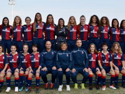 Al via domani la 1^ Viareggio Women's Cup, le Under 19 rossoblù se la vedranno con Juventus, Florentia e Sassuolo