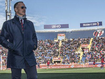 Saputo di ritorno a Bologna, assisterà ai match contro Atalanta e Chievo