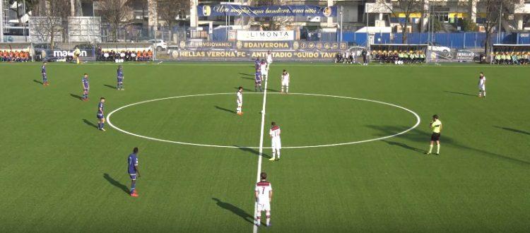 Il Bologna Primavera trema e rimedia nel finale a Verona, 2-2 targato Busi-Nivokazi