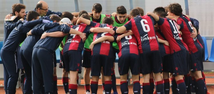 Vittoria per l'Under 17 e sconfitta per l'Under 16, il Bologna Under 15 pareggia ma rimane in testa