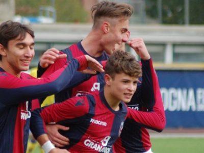 Il Bologna Under 17 pareggia a Cagliari, sconfitte contro l'Inter per le Under 16 e 15
