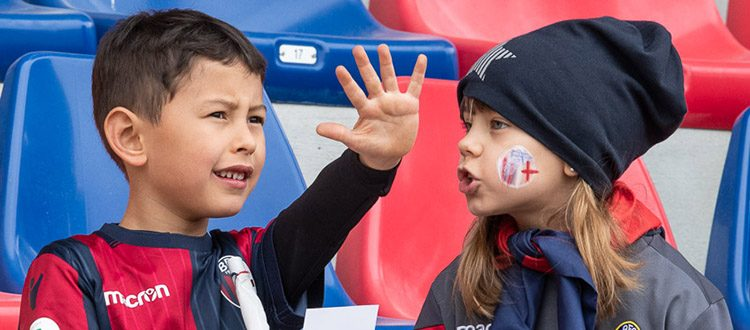 Domenica al Dall'Ara il Kids Club celebra la Giornata internazionale dei diritti dell'infanzia e dell'adolescenza