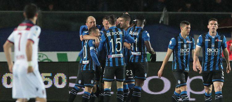 Il Bologna si consegna nelle mani dell'Atalanta, Ilicic e compagni si divertono: 4-1