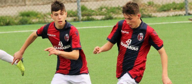 Del Bologna Under 16 l'unico passo falso tra le giovanili, Under 15 e 14 sempre capoliste