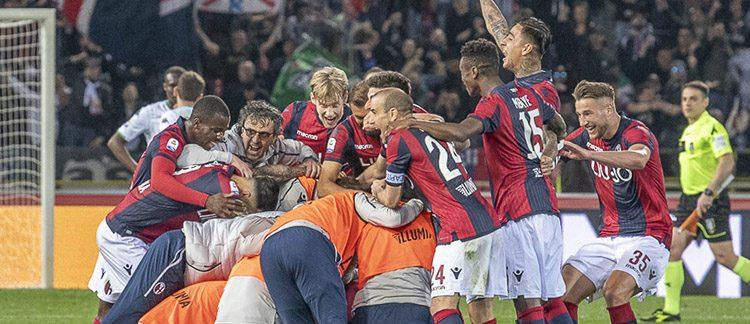 Destro fa impazzire il Dall'Ara: Bologna-Sassuolo 2-1