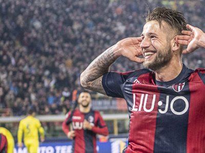 Doppio Pulgar dal dischetto, poi la chiude Dijks: Bologna-Chievo 3-0