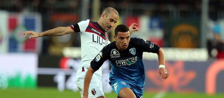 Lo spettro della B fa sempre più paura: Empoli-Bologna 2-1