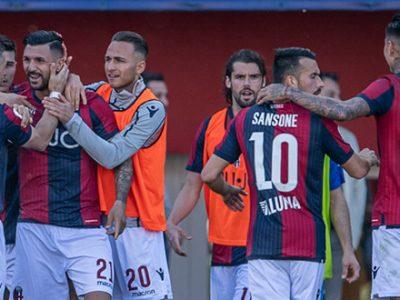Soriano-Orsolini-Sansone, la salvezza prende forma: Bologna-Empoli 3-1