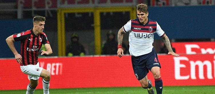Come a Roma c'è (quasi) solo il Bologna, ma i tre punti sono rossoneri