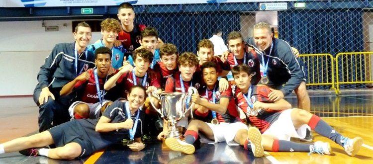 Il Bologna Under 15 di calcio a 5 è campione d'Italia, Atletico Gubbio piegato 3-0 in finale