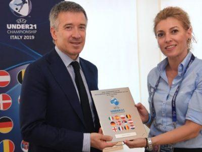 Europeo Under 21: al Bologna il riconoscimento dell'UEFA per l'ospitalità e il supporto