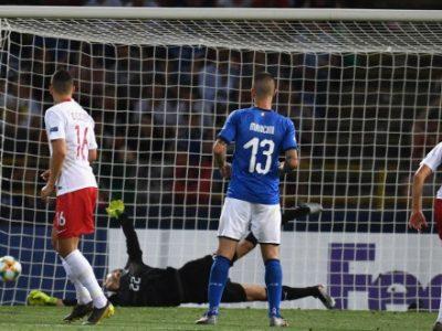 Under 21: Polonia corsara al Dall'Ara, l'Italia cede 1-0 e ora rischia di uscire. Per Orsolini eurogol annullato e problema alla spalla
