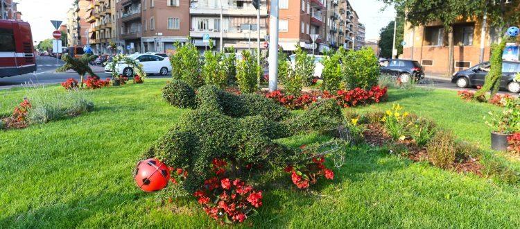 Rinnovate le 'statue verdi' di Pascutti, Negri e Savoldi all'interno della Rotonda Bernardini