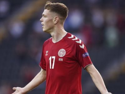 Skov Olsen scatenato con la Danimarca Under 21, splendida tripletta e vittoria 3-2 in Ucraina