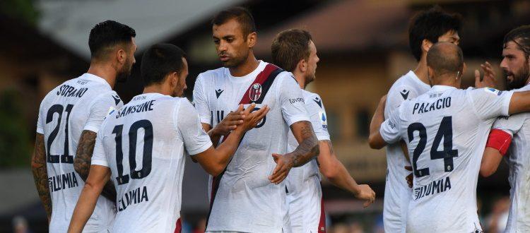 Bologna più pimpante, Schalke 04 piegato 3-2. A segno Poli, Sansone e Palacio, primi minuti per Skov Olsen