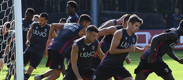 Allenamento atletico alla vigilia del match contro la Virtus Bolzano. Anche Di Vaio e Fenucci a Castelrotto