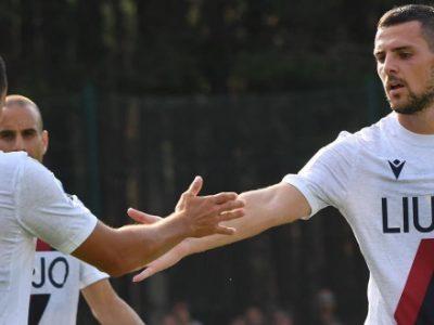 Il Bologna saluta Castelrotto con un 9-0 alla Virtus Bolzano, Destro sugli scudi con una splendida doppietta