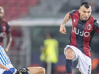 Una giornata di squalifica per Medel, il cileno salterà Juventus-Bologna